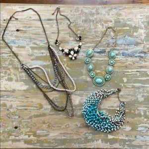 Statement jewelry bundle